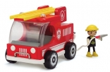 Fire Engine and Fireman