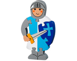 Blue Knight Puzzle