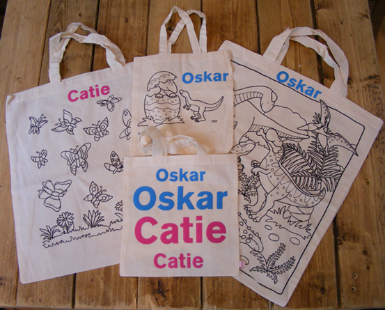 Lovely personalised party bags or gifts