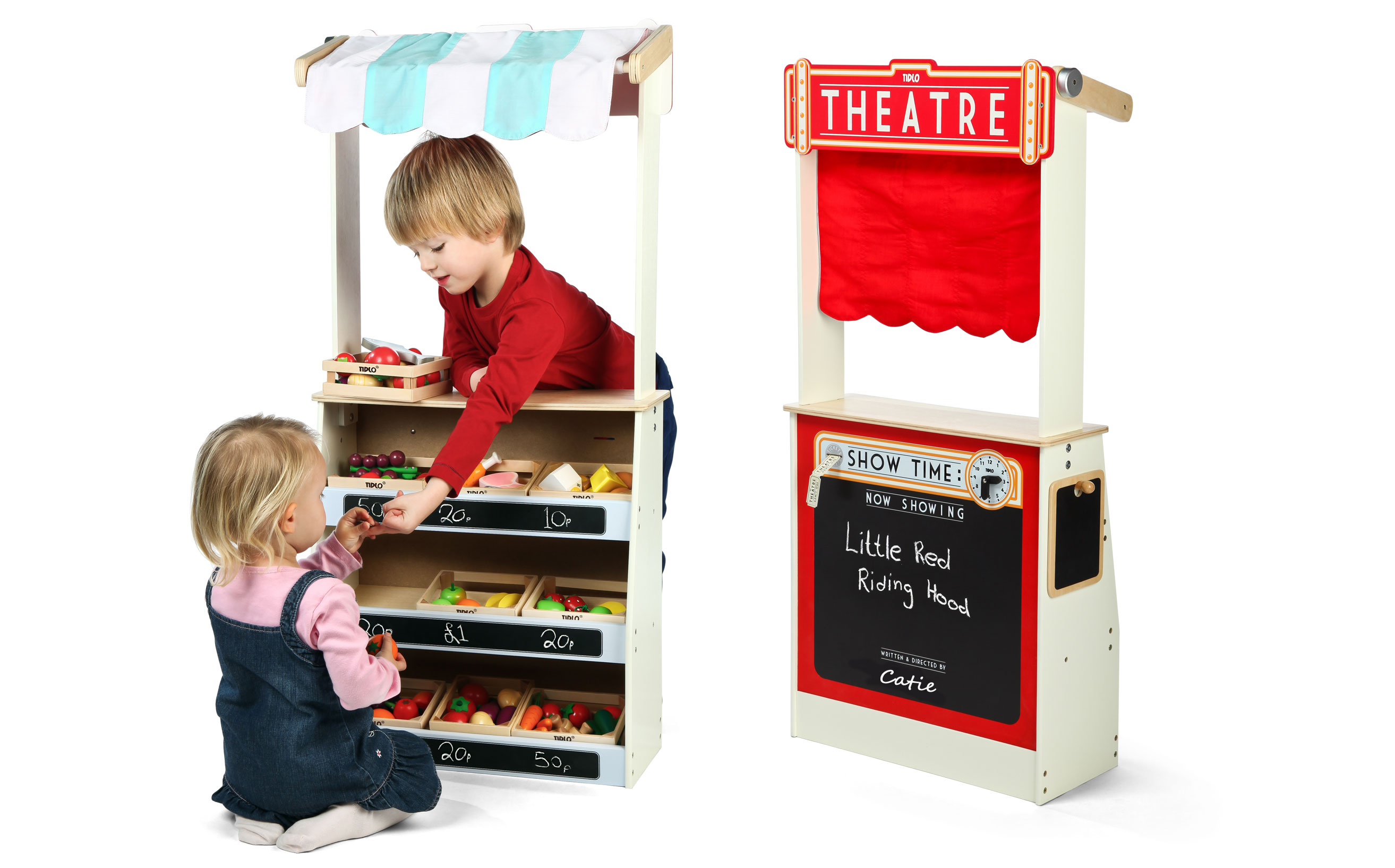 Personalised 2 in 1 Theatre and Shop
